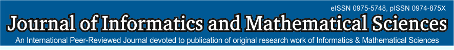 Journal of Informatics and Mathematical Sciences